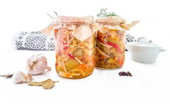 Salata de muraturi de toamna ( taiate)